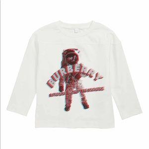 Boys Burberry long sleeve shirt 6Y NWT $120